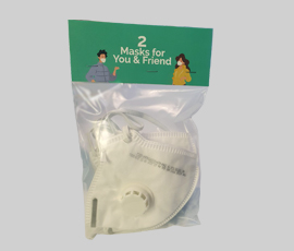 2 Masks FFP2 for You&Friend